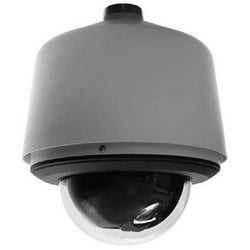 Spectra Enhanced Series IP Dome System, Max. Resolution 1920 x 1080, Low Latency, 30X, SS Environmental Pendant, Gray, Smoked Bubbled Bubble