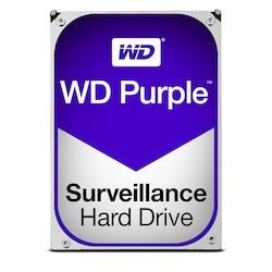 """6TB Western Digital Purple Drive, 3.5"""" AV Surveillance HDD, SATA III - 6Gb/s, 5400rpm, 64MB Cache"""