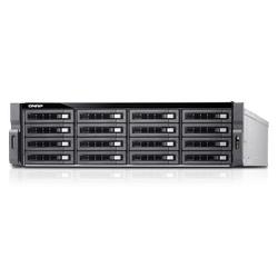 16-bay Dual Processor NAS and iSCSI/ IP-SAN, 3U, SAS 12G, SAS/SATA 6G, 2 x 1GbE, 4 x 10GbE (SFP+), 40GbE-ready, Redundant PSU