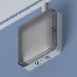 "11"" ABS AP Lock-box: T-bar, Translucent Door"