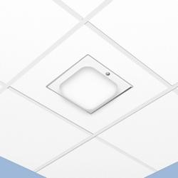 "3"" Zone profonde de plafond suspendu armoire - Dome ABS"