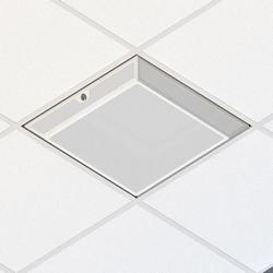 Enceinte de zone de plafond suspendue 3U – aérée, biseautée