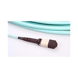 MPO Trunk Cable, 2x12 Fiber, Single-mode, MPO Female-Female, LSZH, Straight, 18m, Yellow