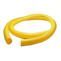 """Fiberguide 2"""" Flex Tube, Slotted, 200ft Length, Yellow"""