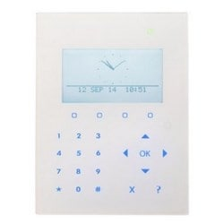 Compact Keypad with graphical display, card reader and audio