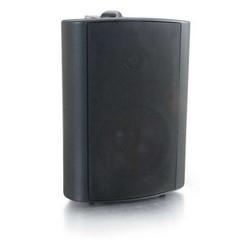 "Wall Mount Speaker, 2-Way, Metal C Bracket, 30 Watt, 100 Hertz to 20 Kilohertz, 89 dB/Watt, 80 Ohm, 4"", ABS Plastic Enclosure, Black"
