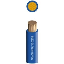 Insulated Cable, TW, 450/750 Volt, 7 Strands, 25 Sq. MM Cross Section, PVC Insulation/Copper Conductor, Black