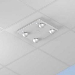 """Aluminum NEMA4 AP Enclosure: 4"""" Deep Suspended Ceiling"""