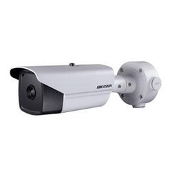 Outdoor network thermal bullet, 384x288, 35mm lens, fire detection, audio in/out, 24VAC/12VDC/HiPoE, 18W