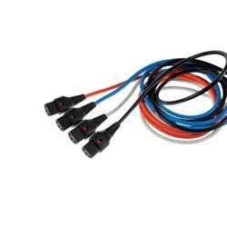 1 Meter Equipment Cord Locking, C13 - C14, Black