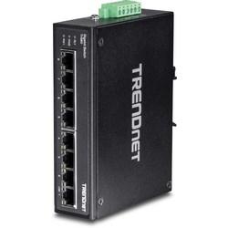 8-port Hardened Industrial Gigabit DIN-Rail Switch
