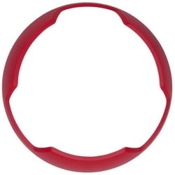 Audible Visible Bezel, Indoor, Ceiling Mount, -40 to 151F, Red, AGENT Legend, For Horn, Strobe, Chime