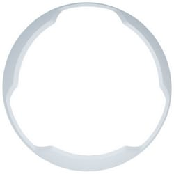 Audible Visible Bezel, Ceiling Mount, -40 to 151F, White, ALERT Legend, For Speaker Strobe