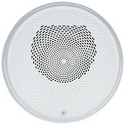 "Speaker, Indoor, 25/70 Volt, 2 Watt, 400 to 4000 Hertz, ?6.8"" Diameter x 2.6"" Height, Ceiling Mount, White"