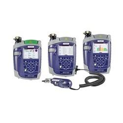 Quad loss kit (850/1300, 1310/1550), SM Light Source (MPOLS-85P), MM Light Source (MPOLS-84P), Power Meter (MPOLP-85P) with Patch Cord Microscope