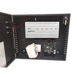 4-DOOR 2-WAY CONTROLLER IN    METAL CABINET W/POWER SUPPLY  US-INBIO-460-PRO-BUN