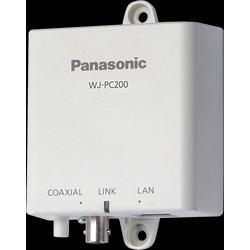 """Coaxial LAN Converter, Camera Side Unit, 4-Channel, 24 Volt AC/57 Volt DC, 4-5/32"""" x 1-3/4"""" x 6-1/2"""", Silver"""