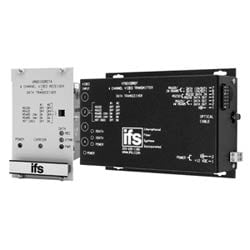 Four Channel FM Video Multiplexer with Bi-directional Data Channel