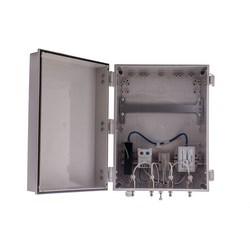 "14""x12""x6"" Heated PoE Enclosure for 4 Element RPTNC External Antenna"