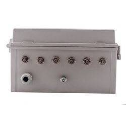 """14""""x12""""x6"""" Heated PoE Enclosure for 6 Element RPSMA External Antenna"""