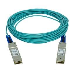 Intel Compatible 40G QSFP câble optique Active assemblé, 3m