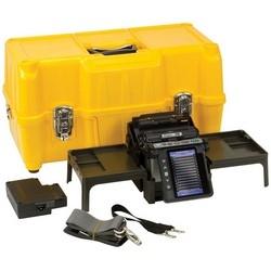 Fusion Splicer Kit, Includes Battery, Charge Cord, Cleaver, Stripper, Adapter, Electrode, Fiber Holder, USB Cable, Alcohol Dispenser, Screw Driver, Sleeve Loader, Case, Guide