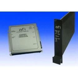 "Ethernet Media Converter, 10/100/1000Base-T to 1000Base-LX, Single-Mode, ST, RJ45, 2-Fiber, 12 VDC, 500 Milliampere, 4-1/4"" Length x 4-1/4"" Width x 1-1/8"" Depth"