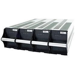 """Module de batterie UPS, plomb acide, largeur 17"""" x 28"""" profondeur x 5,2"""" hauteur, noir, avec cordon d'alimentation"""