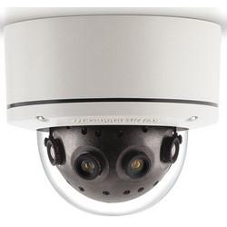 IP Camera, Mini Dome, Panoramic, Day/Night, Indoor/Outdoor, H.264/MJPEG, 8192 x 1536 Resolution, F2.0 Remote Focus 5.4 MM Lens, 24 VAC/48 VDC 12.1 Watt