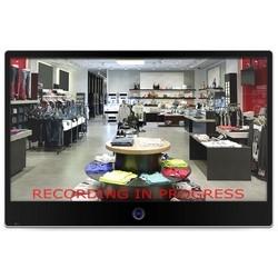 "Public View Monitor, LED, 1366 x 768 Resolution, 24 VDC, 110 to 240 VAC, 58 Watt, 1 BNC Input/2 BNC Output Video Connection, 29.25"" Width x 3"" Depth x 19.63"" Height, Black"
