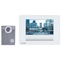 "Basic Video Intercom Kit, 120 VAC Input, 24 VDC Output, Flush Mounted, Screw Terminal, 7"" Touch Screen LCD, Plug-In AC Adapter Transformer, White Backlight"