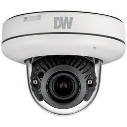 IP Camera, Dome, Day/Night, Indoor/Outdoor, H.264/MJPEG, 1920 x 1080 Resolution, F1.4 P-Iris Remote Auto Focus 2.8 to 12 MM Lens, 4 to 32 GB, 12 VDC 7.5 Watt, PoE