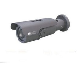 Bullet Camera, Weatherproof IR, 3D-DNR, WDR, Day/Night, H.264/MJPEG/MPEG4, 1920 x 1080 Resolution, Auto Focus Wide/Tele 6 to 50 MM Lens, 4 to 32 GB, 12 VDC 14.4 Watt, PoE