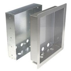 Telephone Entry System Flush Mount Kit Stainless Steel Includes Rough-In Box and  sc 1 st  Anixter & 1814-165 - DOOR KING - Telephone Entry | Anixter