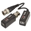 """Video Balun, 1080p High Performance, 5"""" Length x 2.5"""" Width x 3.5"""" Height, With (1) Pigtail, (1) Without to Screw Terminal"""