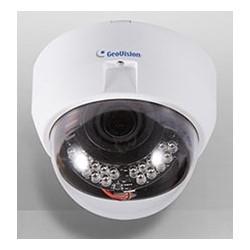 Network IP Camera, IR Fixed, Dome, Indoor, Day/Night, H.264/MJPEG, 2048 x 1536 Resolution, Varifocal P-Iris 3 to 9 MM Lens, 12 VDC, 5.8 Watt, PoE