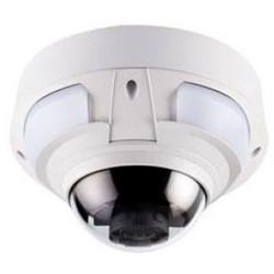 IP Camera, Dome, PTZ, Vandal Resistant, 3x Optical Zoom, Day/Night, Outdoor, H.264/MJPEG, 2560 x 1920 Resolution, F1.2 Varifocal/DC-Iris/Auto Focus 3.3 to 9 MM Lens, PoE