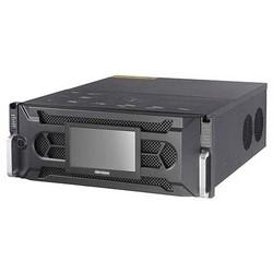 Réseau vidéo Recorder, châssis 4U, IP 128 canal d'entrée vidéo, 400 Mbit/s In/Out VAC 100 à 240, 50 ou 60 Hertz, 600 watts, bande passante, 6TB