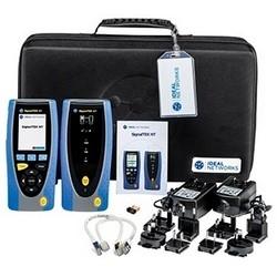 Kit testeur de Transmission de réseau, comprend affichage (1), télécommande (1), (2) NiMH batterie, câble vidéo (2), alimentation (2), adaptateur Wi-Fi USB (1), (1) Manuel de l'utilisateur, mallette de transport (1)