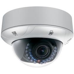 Dome Camera, IR, IP Open Standard, WDR, NTSC, Day/Night, H.264/MJPEG/MPEG4, 2048 x 1536 Resolution, F1.2 Varifocal 2.8 to 12 MM Lens, 64 GB, 12 VDC 0.67A, 8 Watt, PoE