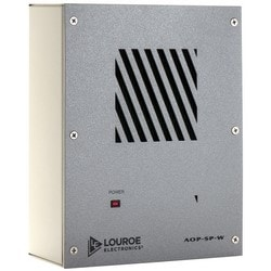IP Camera Speakerphone, Electret Condenser Microphone, 600 Ohm Microphone/8 Ohm Speaker Impedance, 12 VDC, 200 Milliampere, Aluminum Faceplate, For Indoor Wall
