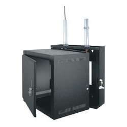 "EWR Series Rack, EWR-12-17SD, 17"" D X 28"" H, With Solid Door"