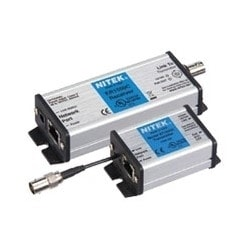 """IP Over Coaxial Network Extender, RJ45 Connector, BNC Coax Jack Link Port, -40 to 167 Deg F, 1.6"""" Width x 4.93"""" Depth x 1.1"""" Height, (2) 3/8"""" Mounting Slot Mount"""