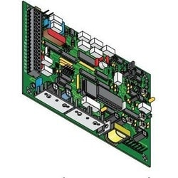 Access Control Circuit Board, For Residential Telephone Intercom System