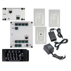 "Source Kit, 24 Volt DC, 60 Watt, 8.25"" Width x 13.5"" Depth x 8.25"" Height, White, For Digital Audio"
