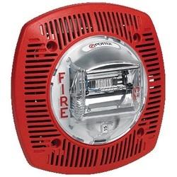 """Speaker/Strobe, Low Profile, Wall Mount, 24 VDC, 400 to 4000 Hertz, 32 to 120 Deg F, 6.1"""" Length x 6.1"""" Width x 1.88"""" Depth, White Faceplate"""