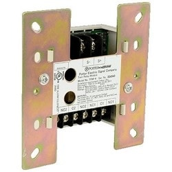 """Fire Alarm System Twin Relay Module, 22 to 24 Volt, 325 Microampere Standby, 1 Milliampere Alarm, 2A at 24 VDC Resistive, 4.17"""" Length x 4.17"""" Width x 1.14"""" Height"""