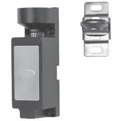 "Electric Cabinet Lock, Dual Monitoring, Compact, 12/24 VDC, 1-3/16"" Width x 1-1/4"" Depth x 3-11/16"" Height, 440 Lbf Capacity, Metal, Black"