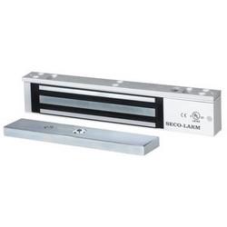Electromagnetic Lock, 12/24 VDC, 600 Lb Load, Anodized Aluminum Housing