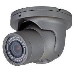 IP Camera, Turret, Day/Night, H.264/MJPEG, 1920 x 1080 Resolution, Auto Iris/Varifocal/Motorized 3.3 to 10 MM Lens, 12 VDC, 9 Watt, PoE